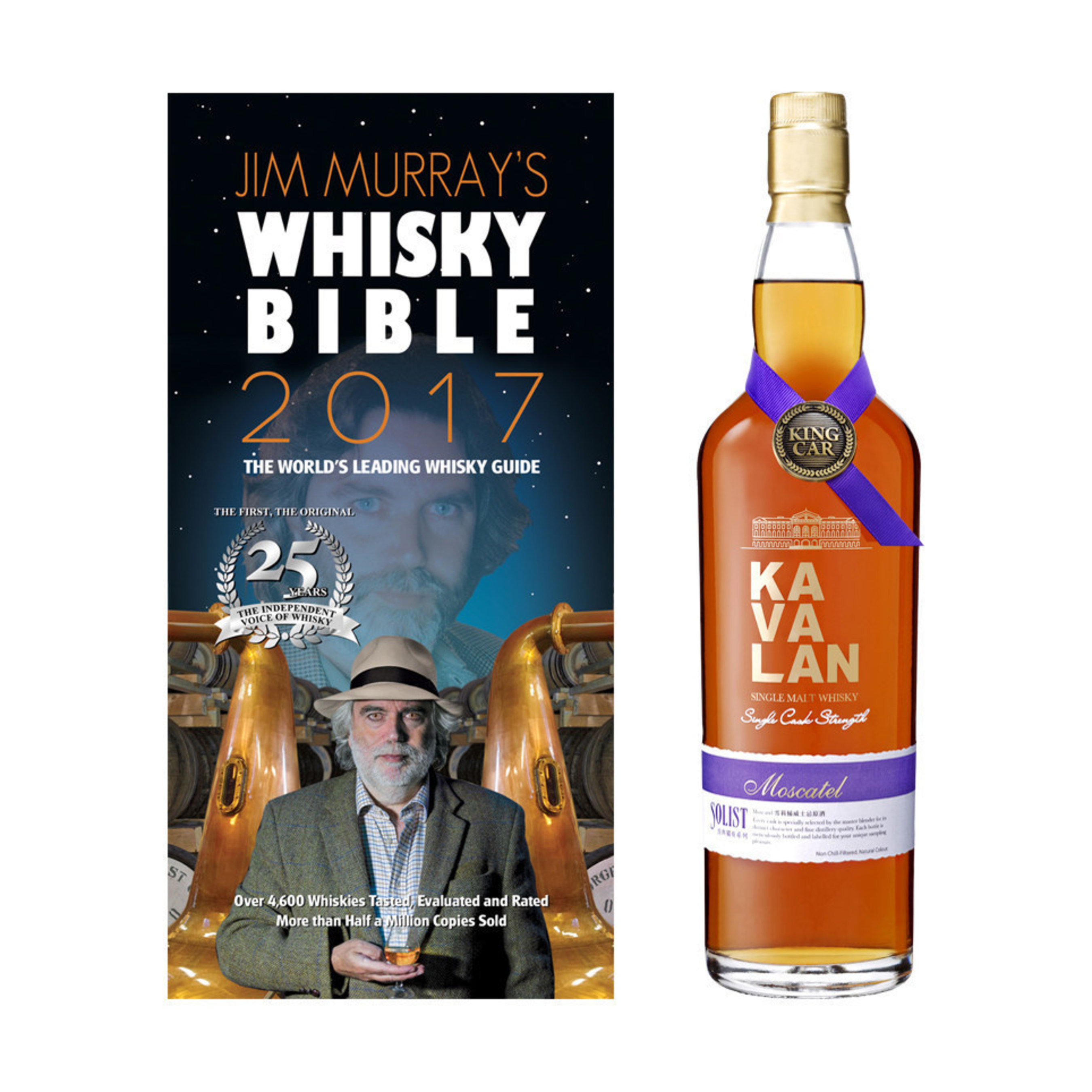 Kavalan named Jim Murray's Whisky Bible 2017 Asian Whisky of the Year