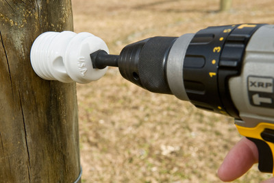 New Self-drilling Insulators From Zareba Revolutionize Installation
