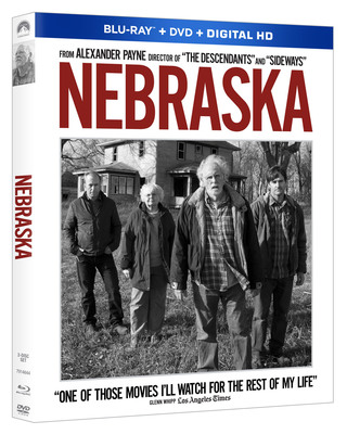 2014 Academy Award(R) Nominee For Best Picture, Best Director, Best Actor And More NEBRASKA Debuts on Blu-ray(TM) Combo February 25 and on Digital and Digital HD February 11. (PRNewsFoto/Paramount Home Media Distribution) (PRNewsFoto/PARAMOUNT HOME MEDIA...)