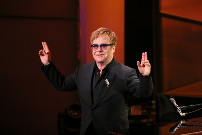 "Alfred Haber Television, Inc. Selected As Worldwide Distributor For ITV's ""BRITs Icon: Elton John"".  (PRNewsFoto/Alfred Haber Television, Inc.)"
