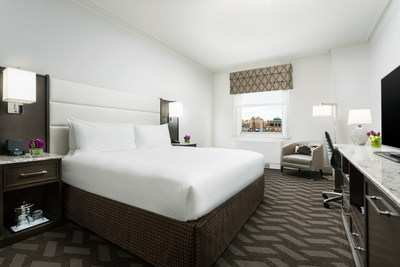 King Guestroom at Boston Park Plaza
