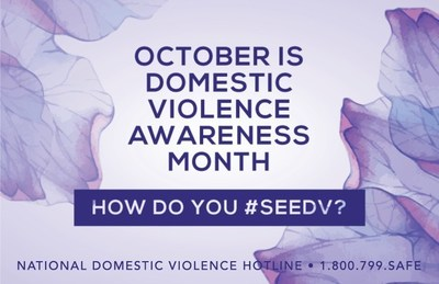 Share How You #SeeDV? Why is domestic violence an important issue to you? This October, let everyone know how you #SeeDV. Be sure to follow The Hotline as we share different perspectives on domestic violence from survivors, advocates, and others in the field.