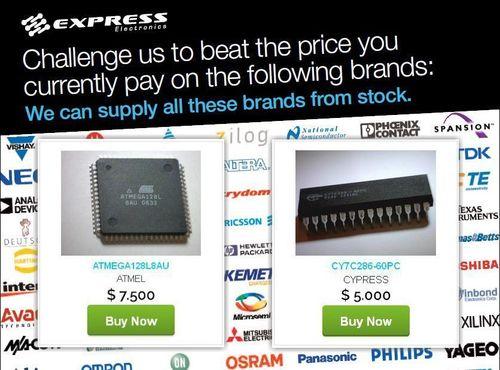 Buy Online - Challenge Us Today (PRNewsFoto/Express Electronics)