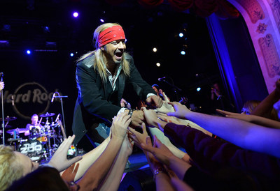Bret Michaels Takes the Stage to Kickoff Nationwide Program as Hard Rock Offers Free Local Legendary(TM) Burgers on April 15