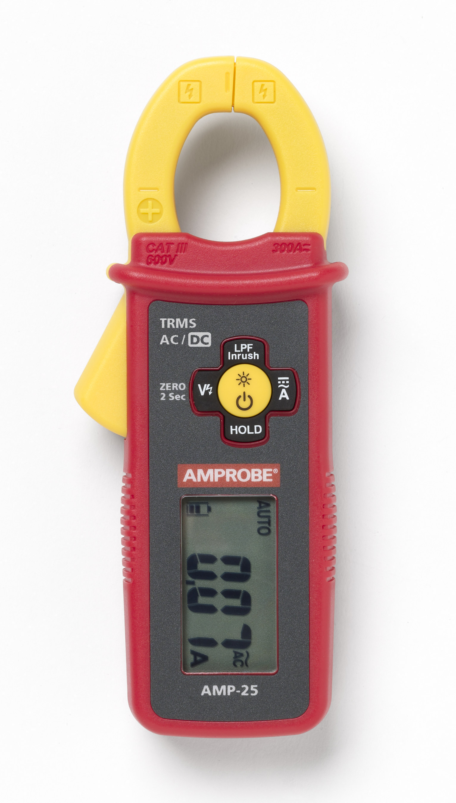 Amprobe Amp 25 Ac Dc Trms Mini Clamp Packs Key Troubleshooting Electric Noncontact Voltage Detector The Home Depot Canada 58 Inches Tall Measures Load 60