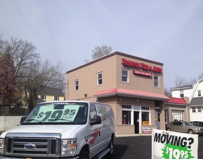 Trenton Tire & Auto Center Welcomes U-Haul to Its Business (PRNewsFoto/U-Haul)