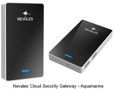 Nevales Cloud Security Gateway - Aquamarine (PRNewsFoto/Nevales Networks Inc.)