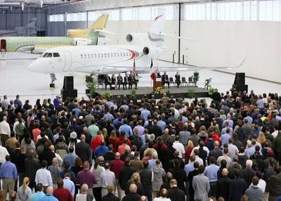 Dassault Falcon Jet Completes New Little Rock Expansion (PRNewsFoto/Dassault Aviation)