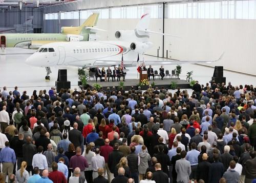 Dassault Falcon Jet Completes New Little Rock Expansion (PRNewsFoto/Dassault Aviation) (PRNewsFoto/Dassault Aviation)