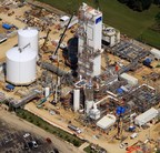 Linde completes coldbox installations at its air separation unit (ASU) in La Porte, Texas. (PRNewsFoto/The Linde Group)
