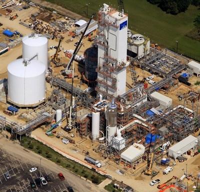 Linde completes coldbox installations at its air separation unit (ASU) in La Porte, Texas. (PRNewsFoto/The Linde Group)