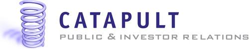 Catapult PR-IR Logo. (PRNewsFoto/Catapult PR-IR) (PRNewsFoto/CATAPULT PR-IR)