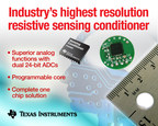 TI's PGA900 is the industry's the highest resolution resistive sensing conditioner, offering performance and precision without compromise.