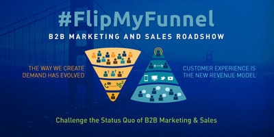 #FlipMyFunnel, the first-ever B2B account-based marketing roadshow heads to San Francisco on Feb. 25