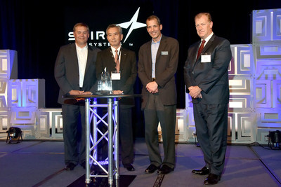 Spirit AeroSystems recognized supplier Nikkiso Co., Ltd. for superior performance with a Supplier of the Year Award at a banquet in Wichita, Kansas.