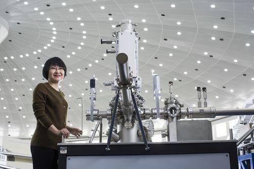 Professor Yi Xie, Laureate of the 2015 Lâeuro(TM)OrÃ(C)al-Unesco For Women in Science Award. Photo copyright ...