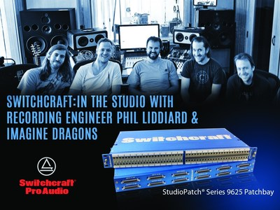 Switchcraft 9625 Patchbay: In the studio with recording engineer Phil Liddiard and Imagine Dragons