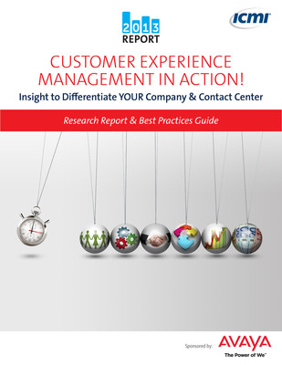 The International Customer Management Institute (ICMI), the leading global provider of comprehensive resources for customer management professionals, uncovers in their latest research report that eighty-one percent (81%)  of contact centers report their organization recognizes correlations between the customer experience and loyalty.  (PRNewsFoto/International Customer Management Institute (ICMI))