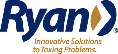 Ryan is an award-winning global tax services firm, with the largest indirect and property tax practices in North America and the seventh largest corporate tax practice in the United States. (PRNewsFoto/Ryan)