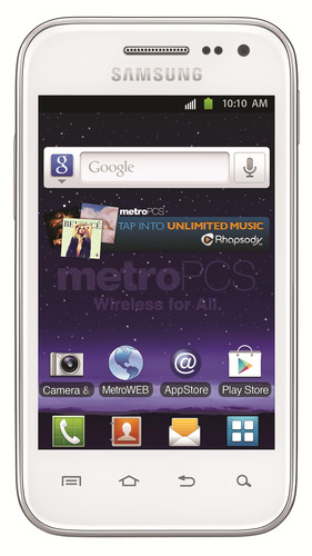 MetroPCS Adds Samsung Galaxy Admire 4G to its Collection of Powerful and Affordable 4G LTE Smartphones. New 4G LTE version of popular Galaxy Admire delivers versatility and high performance with incredible value.  (PRNewsFoto/MetroPCS Communications, Inc.)