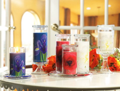 Yankee Candle New Limited Edition Collection: Full Bloom.  (PRNewsFoto/The Yankee Candle Company, Inc.)