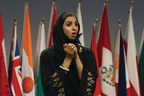 Shurooq AlBanna competes in Toastmasters World Championship of Public Speaking