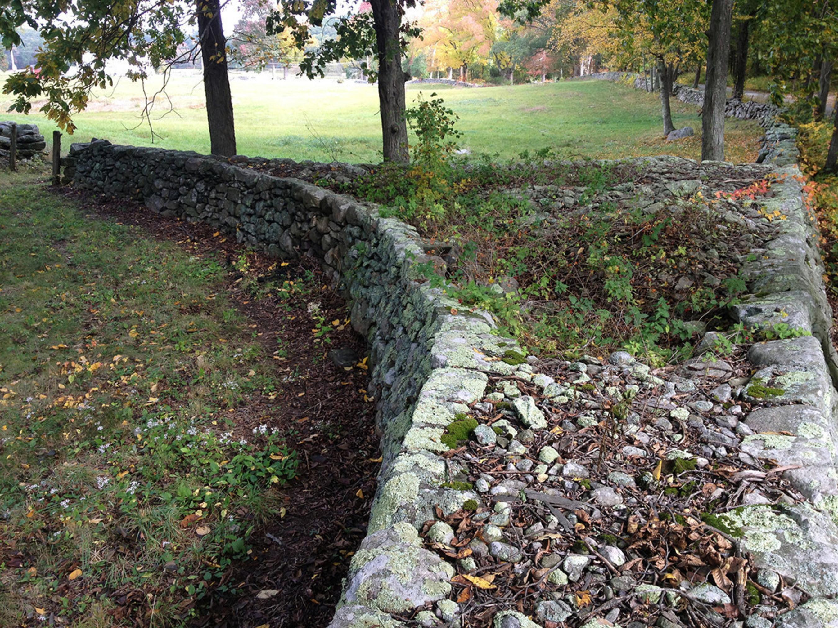 robert frost wall