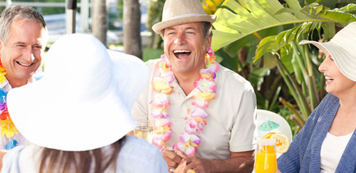 4 Travel Ideas for Seniors to Boost Their Social Circles.  (PRNewsFoto/MySilverAge)