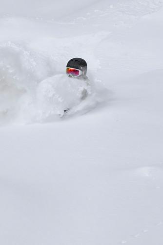 Skiers need snow snorkels at Heavenly Resort in Lake Tahoe.  (PRNewsFoto/Vail Resorts, Heavenly Resort)