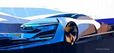 Honda FCEV Concept to Make World Debut at 2013 Los Angeles Auto Show.  (PRNewsFoto/American Honda Motor Co., Inc.)