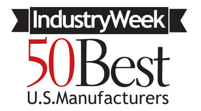 Penton's IndustryWeek Identifies the United States' Best and Biggest Manufacturers (PRNewsFoto/Penton)