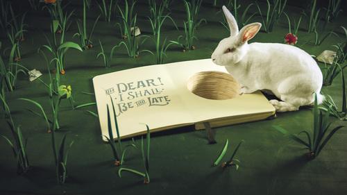 Tumble down the rabbit hole and into Lewis Carroll's literary classic (PRNewsFoto/Moleskine SpA)