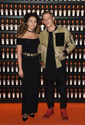 Ella Eyre pictured at the launch of the Cointreau Creative Crew at Cafe Royal. A worldwide programme that will champion creative women and their artistic visions with a Pounds Sterling20,000 bursary to make their dreams become a reality. www.cointreaucreativecrew.com (PRNewsFoto/Maison Cointreau) (PRNewsFoto/Maison Cointreau)