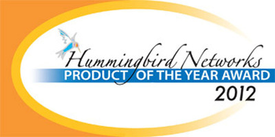 Adtran Bluesocket vWLAN Is Winner of Hummingbird Networks 2012 Product Of The Year.  (PRNewsFoto/Hummingbird Networks)