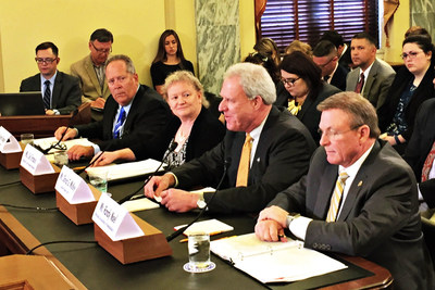 David McKey, National Association of Realtors 2016 Insurance Committee vice chair testifies before the U.S. Senate Small Business and Entrepreneurship committee on flood insurance.