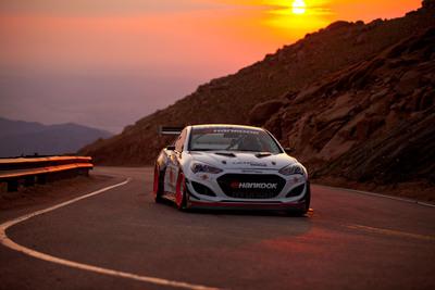 Hyundai And Rhys Millen Racing Tap Pikes Peak Veteran Paul Dallenbach To Pilot Time Attack Genesis Coupe.  (PRNewsFoto/Hyundai Motor America)