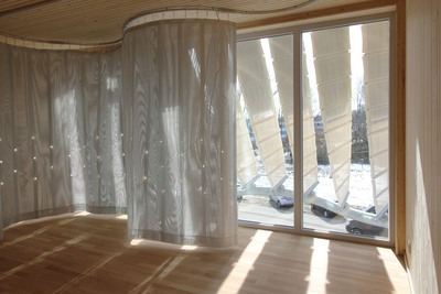 IBA Soft House: 3rd Floor Smart Curtain with LEDs