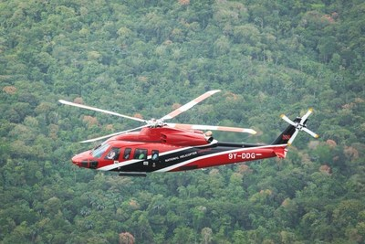 National Helicopter Services Ltd.'s first S-76D helicopter has averaged more than 100 hours per month since entering revenue service in February 2014.