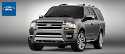 The 2015 Ford Expedition is coming to Dahl Ford this fall and offers a potent combination of power and versatility to Davenport, Iowa drivers. (PRNewsFoto/Dahl Ford)