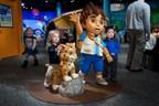 Children enjoying the Dora & Diego - Let's Explore! exhibit at Liberty Science Center.