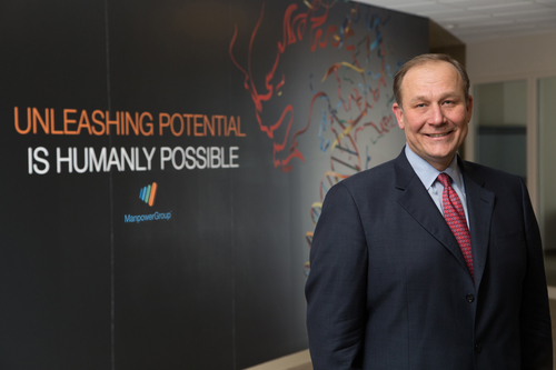 "Jeff Joerres, ManpowerGroup Chairman and CEO: ""Leadership is a journey but the current demand for leaders in Asia means this journey needs to be taken by an express train."" (PRNewsFoto/ManpowerGroup) (PRNewsFoto/MANPOWERGROUP)"