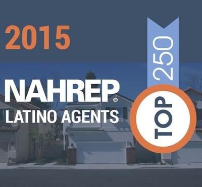 2015 NAHREP Top 250 Latino Agents report