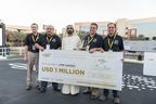 Loon Copter team, winner of UAE Drones for Good Award