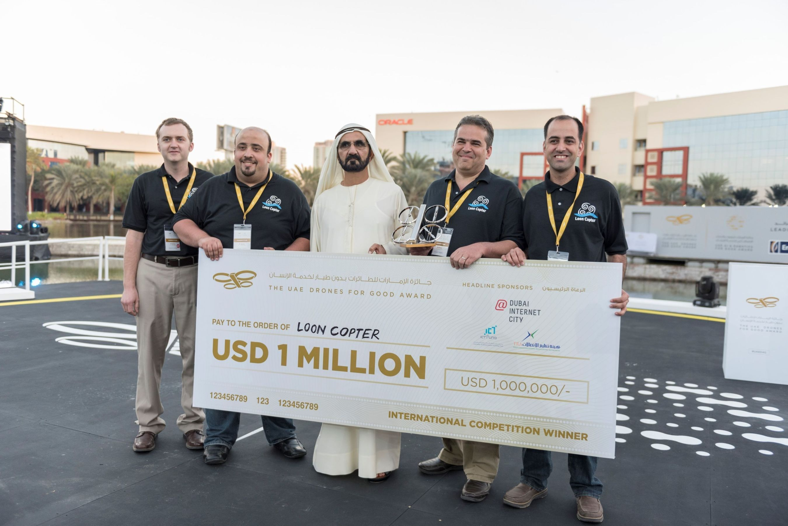 US$ 2 Million 'UAE Drones for Good Award' and 'UAE AI & Robotics Award for Good' Declare Winners