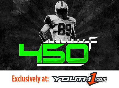 Youth1 Media announces the release of its highly anticipated scouting reports, the Freshman 450 and the Elite 101. The two lists highlight the nation's top 450 rising freshman football prospects and rising 8th grade players, respectively. The Elite 101 ranks the best 101 youth football athletes in the country from the Class of 2019 while the Freshman 450 breaks down the top 450 high school freshman in the country in the Class of 2018. (PRNewsFoto/Youth1 Media)
