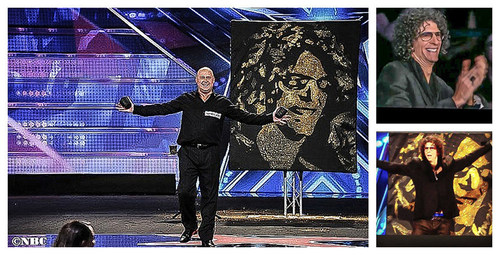 Speed Painter's Fame & Fortune Explodes in a Matter of Seconds; Howard Stern Stunned (PRNewsFoto/Robert Channing)