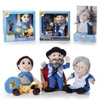 Award-winning THE MENSCH ON A BENCH Welcomes HANNAH THE HANUKKAH HERO And ASK BUBBE To The Family