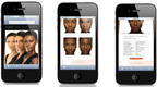 IMAN Cosmetics QR Code Screenshot.  (PRNewsFoto/IMAN Cosmetics)