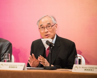 Prof. Lawrence J. Lau, Chairman, Prize Recommendation Committee, LUI Che Woo Prize (PRNewsFoto/LUI Che Woo Prize Limited)