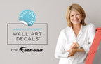 FATHEAD ANNOUNCES LAUNCH OF NEW MARTHA STEWART WALL ART DECALS